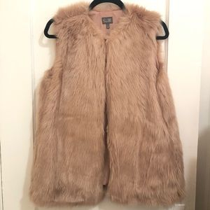 Faux Fur Vest by Cusp (Neiman Marcus)
